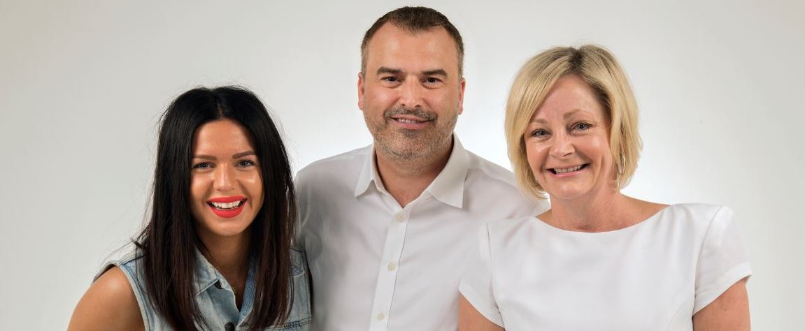 James Wright, Global Chairman of the Havas PR Collective (centre), Davitha Ghiassi and Jackie Crossman, Executive Directors at Red Agency and co-authors of the report